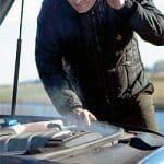 Winter veroorzaakt autopech in Nederland