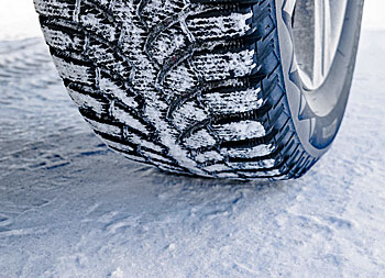 wintersport in Oostenrijk: winterbanden verplicht!