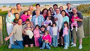 Groepsannuleringsverzekering voor vakantie met familie