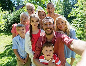 familie in de derde graad