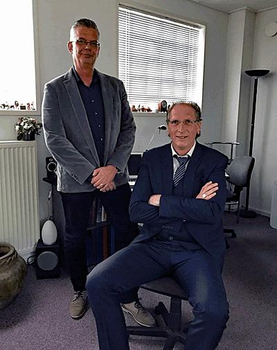 Directie Reisverzekeringkorting.nl: Rob Demmers en Ronald Heesters
