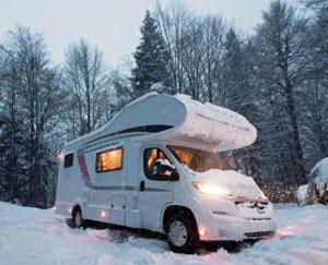 Campervakanties ook populair in de winter