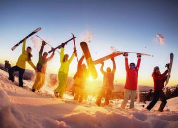 Wintersport groepsreisverzekering