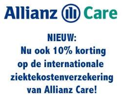 Allianz Care ziektekostenverzekering nu met 10% korting!